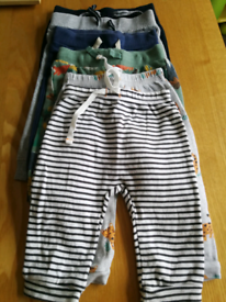 6 pairs of baby joggers 3 to 6 months 50p per pair