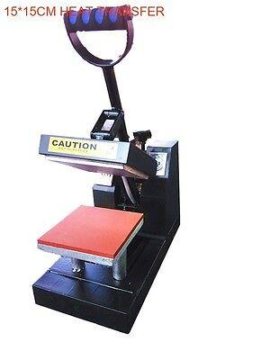 Compact Small 110v 15cm15cm Heat Transfer Equipment Heat Press Machine