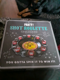 Party shot roulette game