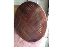 Garden table 150cm diameter