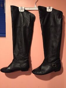 Aldo boots over the knee size 7