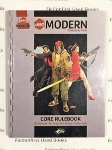 """Roleplaying Manual: """"d20 Modern Core Rulebook"""""""