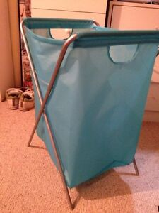 Turquoise laundry basket North Shore Greater Vancouver Area image 1