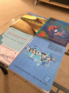 Three Psychology and One Sociology Textbook(s)