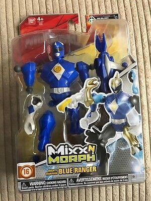 MIGHTY MORPHIN POWER RANGERS MIXX n MORPH BLUE RANGER #smar17-25a