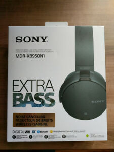 Sony Wireless Noise Canceling Extra Bass Headphones