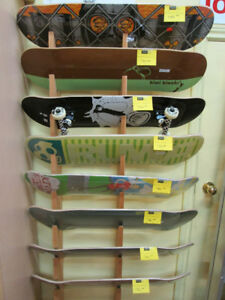 Ruwa Skateboards (Reduced!) For Sale At Nearly New Port Hope