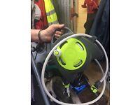Wind up hose reel
