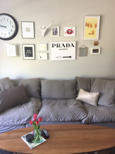 Couch - Restoration Hardware Modular Cloud Couch - 3 Pieces