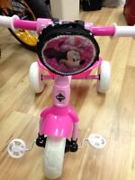 Tricycle pour Filles Neuf Mini Mouse tricycle for girls