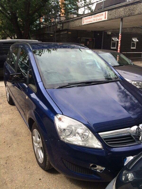 uber pco 2010 1 9 tdi ready vauxhall zafira for sale in. Black Bedroom Furniture Sets. Home Design Ideas