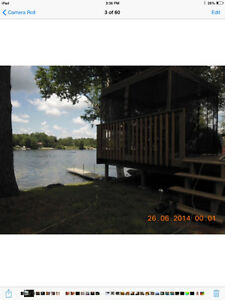 Cottage 25 feet off Lower Beverley Lake for rent