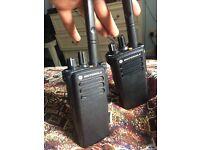 Dp4400 Motorola radio x2