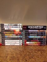 PS3: 21 Games for Sale Bundle/Individual