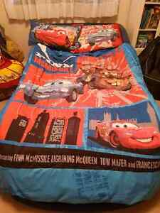Sports Car Twin Bed Blue Hardly Used Colborne Cramahe ON.