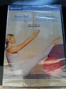 Gaiam Balance Ball For Weight Loss DVD (never opened)