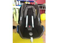 MaxiCozi CabrioFix Car Seat Fit to Any Pram, Pushchair, buggies & Isofix Base & Bugaboo Adapters