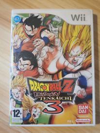 Dragon Ball Z Budokai Tenkaichi 3 Nintendo Wii