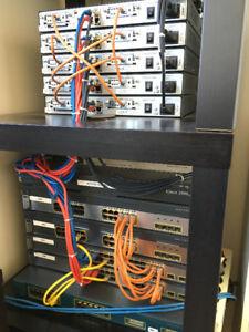 Cisco CCNA/CCNP/CCIE Network Lab Equipment