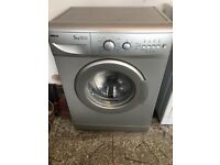 Silver hot point washing machine 5kg