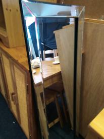Long modern mirror