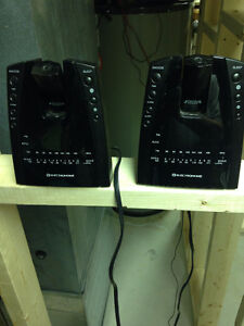 3 Digital Alarm Clocks with projection, $15 for all 3.
