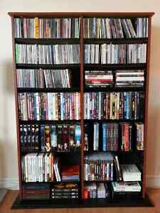 Double Media Tower / Bookcase