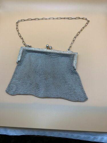 German Silver Evening Bag Purse
