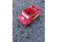 Lightning McQueen push car