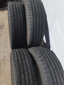 4 - GREAT 235 70 R17 HANKOOK DYNA-PRO AS TIRES.