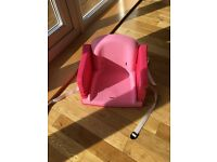 Child's table booster seat