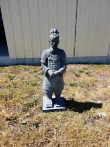 Garden Statue - Entombed Warrior