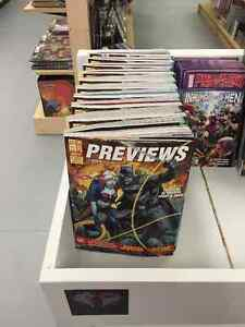 Stop In & Get Your Free Copy Of Previews Magazine