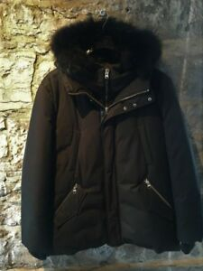 AUTHENTIC MENS MACKAGE LIMITED EDITION EDWARD ALL BLACK PARKA.