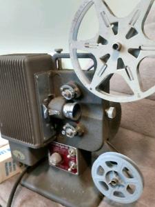 Kodascope 8mm film projector - working)