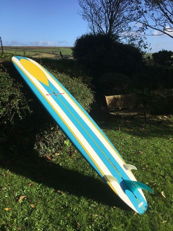 "9'6"" Performance Robert August Hydro Hull SurfTech Longboard. Excellent condition"