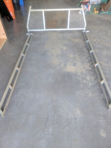 Truck rack and rails