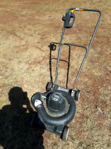Electric push mower