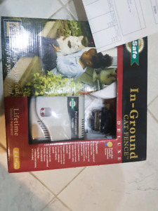 Cat small dog fence electronic