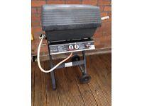 Landmann gas bbq barbecue double burner working
