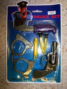 Toys: SUCTION DARTS - Police Toy Set •	Toy Name: Suction Darts