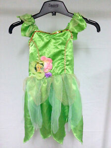 Tinkerbell Halloween Costume Girls Official Disney Tink Fairy