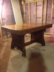 "Stunning, Antique ""Art Deco"" Dining Room Table"
