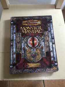 Monster Manual for Dungeons and Dragons 3.5 Edition