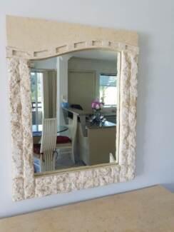 Nick Scali Fossil Mirror