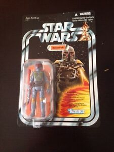 Kenner Rocket Firing Boba Fett Figure NEW MINT SEALED