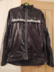New balance jacket in black small size.