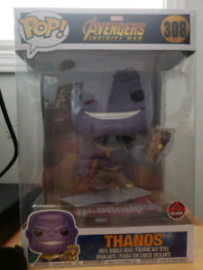 "Funko Pop Thanos 10"" Pop Eb games Exclusive"