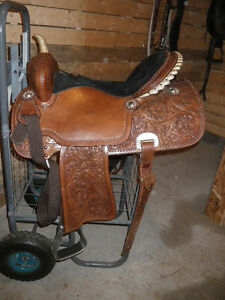 Selle western/baril