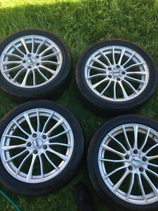 18inch wheels with Gmax rubber